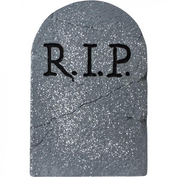 "Grabstein ""RIP"", 56cm große Halloween Dekoration - Gruseldeko"
