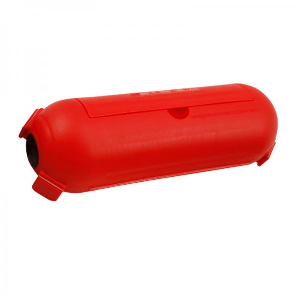 Kabelschutzdose, rot - zur Verlegung von Stromkabeln im Freien (Kabelbox)