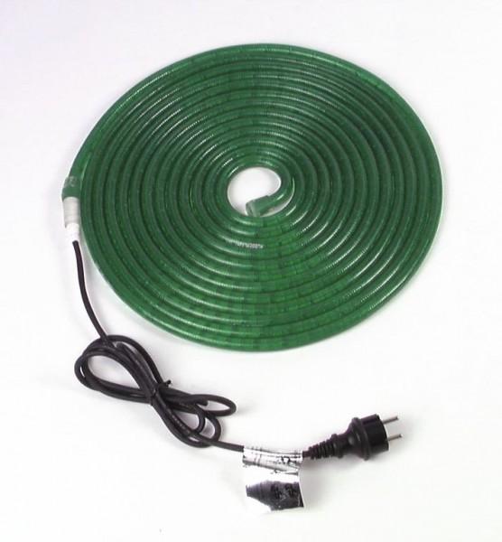 RUBBERLIGHT Lichtschlauch - Outdoor - RL1 - 180 Lampen - 9,00m - anschlussfertig - grün